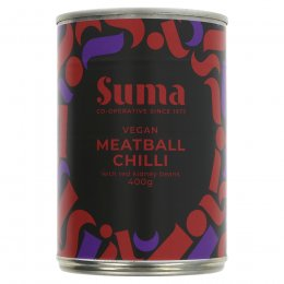 Suma Vegan Meatball Chilli - 400g