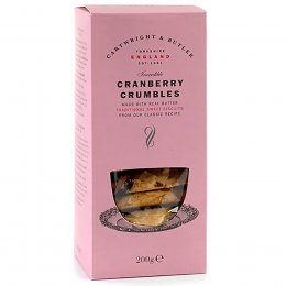 Cartwright & Butler Cranberry Crumbles - 200g