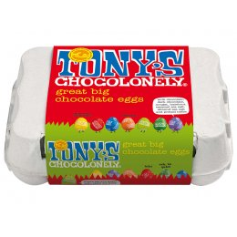 Tonys Chocolonely Chocolate Easter Eggs - 155g