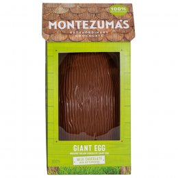 Montezumas Giant Milk Chocolate with Butterscotch Easter Egg - 450g