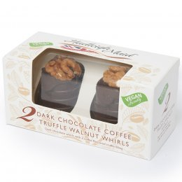 Hadleigh Maid Dark Chocolate & Coffee Truffle Whirl - 100g