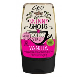Geo Organics Vanilla Coffee Syrup - 180ml