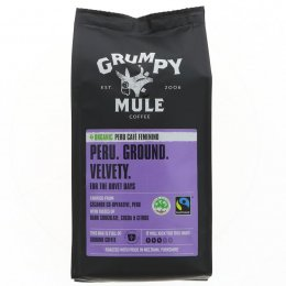 Grumpy Mule Peru Femenino Ground Coffee -  227g