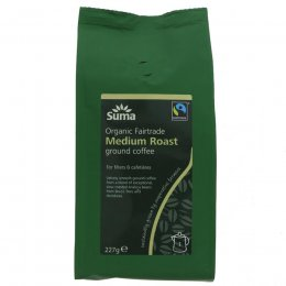 Suma Medium Roast Ground Coffee -  227g