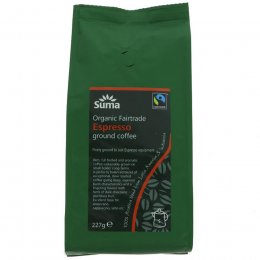 Suma Espresso Ground Coffee -  227g
