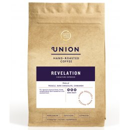 Union Coffee Revelation Pre Ground Espresso Grind Coffee - 200g