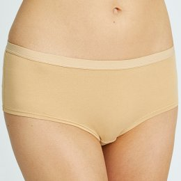 People Tree Organic Short Briefs - Almond