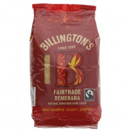 Billingtons Fairtrade Demerara Sugar - 500g