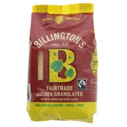 Billingtons Fairtrade Golden Granulated Sugar - 500g