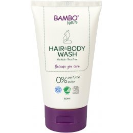 Bambo Nature Hair & Body Wash - 150ml