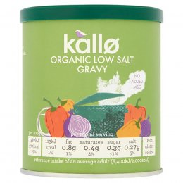 Kallo Low Salt Gravy Granules - 160g