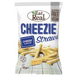 Eat Real Potato Cheezie Straws - 113g
