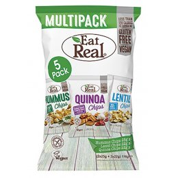 Eat Real Hummus, Lentil & Quinoa Multipack - 5 pack