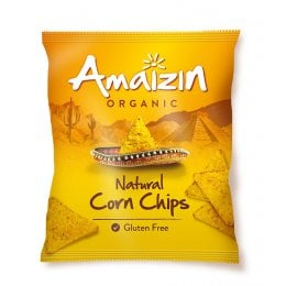 Amaizin Natural Corn Chips - 250g