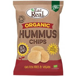 Eat Real Organic Hummus Salt Chips - 100g