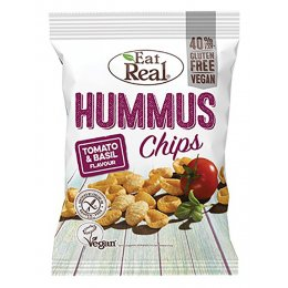 Eat Real Tomato Basil Hummus Chips - 135g