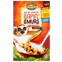 Natures Path Organic Peanut Butter & Chocolate Leapin Lemurs Cereal - 284g