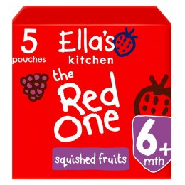Ellas Kitchen The Red One Multipack - 5 x 90g
