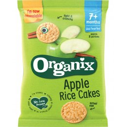 Organix Apple Rice Cakes - 50g