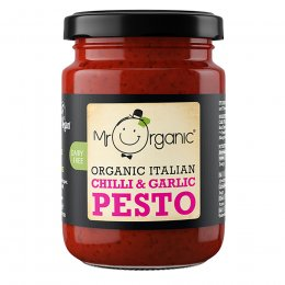 Mr Organic Chilli & Garlic Pesto - 130g