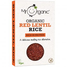 Mr Organic Red Lentil Rice - 250g