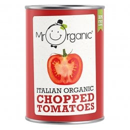 Mr Organic Chopped Tomatoes - 400g