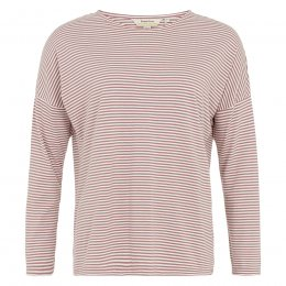 People Tree Almond Stripe Long Sleeve Pyjama Top