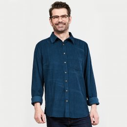 Nomads Midnight Long Sleeved Cord Shirt