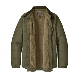 Patagonia Isthmus Quilted Shirt Jacket - Industrial Green