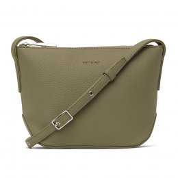 Matt & Nat Recycled Sam Crossbody Bag - Mineral