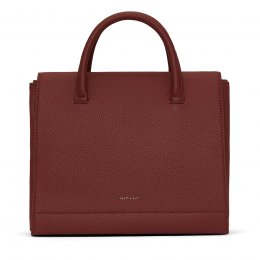 Matt & Nat Recycled Adel Satchel - Beet