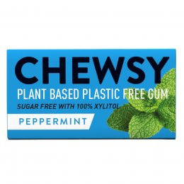 Chewsy Peppermint Chewing Gum - 15g