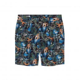 Komodo Bobby Pleat Shorts - SOS Print