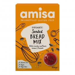 Amisa Organic Gluten Free Seeded Bread Mix - 500g