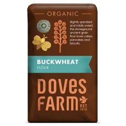 Doves Farm Buckwheat Wholegrain Flour - 1kg