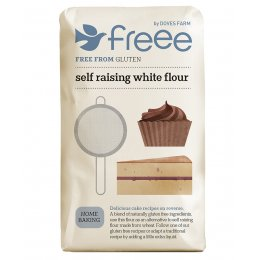 Doves Farm Gluten Free White Self Raising Flour - 1kg