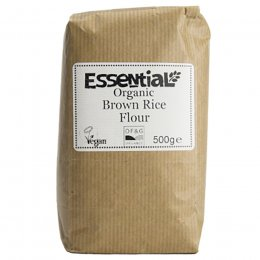 Essential Trading Organic Stoneground Brown Rice Flour - 500g