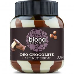 Biona Organic Duo Chocolate Hazelnut Spread - 350g