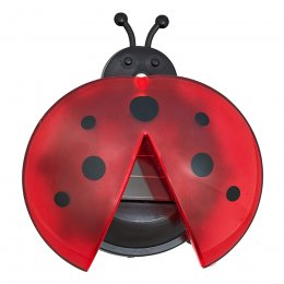Solar Powered Lady Bug Light - Pack of 4