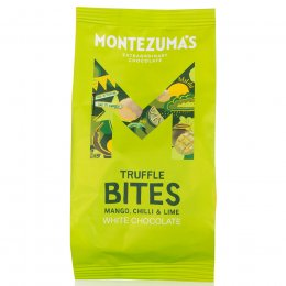Montezumas White Chocolate Truffle Bites with Mango, Chilli & Lime - 120g