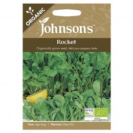 Johnsons Organic Rocket Seeds