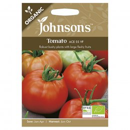 Johnsons Organic Tomato Seeds - Ace 55 VF