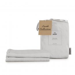 Panda Earth Collection Coconut White Pillowcases - Set of 2