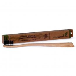 Ecotoothbrush Bamboo Charcoal Toothbrush - Soft