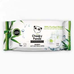 The Cheeky Panda Anti-Bacterial Multi Surface Wipes - 100 Wipes