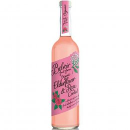 Belvoir Organic Elderflower Rose Cordial - 500ml