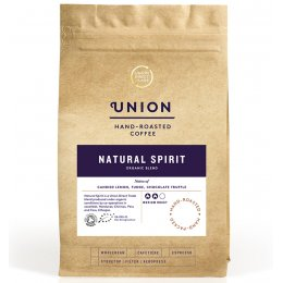 Union Coffee Natural Spirit Organic Blend Coffee Beans - 200g