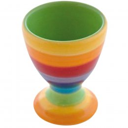 Handpainted Rainbow Egg Cup