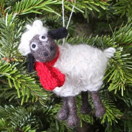 Hanging Christmas Decoration - Kevin the Lamb