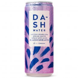 Dash Water Sparkling Blackcurrant Multipack - 4 x 330ml